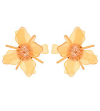 MARNI H&M Pure Orange Flower Earrings