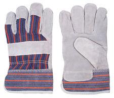 Big John Leather Work Glove - Contractor, Carpenter, Construction Glove One Size