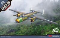 "Academy 1/48 B-25D ""Pacific Theatre"" USAAF Plastic Model Kit 12328"
