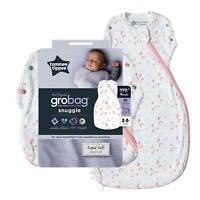 Tommee Tippee Grobag Newborn Snuggle Baby Sleep Bag, 0-4m 2.5 Tog, Pretty Petals