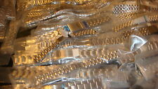 JOB LOT OF 50 X NEW GENUINE MIXED mans & ladies Stainless Steel WATCH STRAPs,,