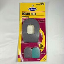 Dr. Scholl's Donut Heel Foot Cushions Women's Trim to Fit Spurs Shoe Insert New