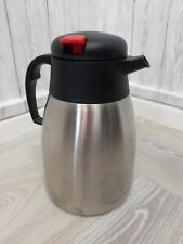 Stainless Steel Coffee Tea Hot Chilled Water Milk Insulated Vacuum Jug Flask 1L