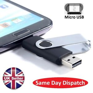 64gb OTG 2 in 1 Photo Stick USB Flash Memory Drive Android/Samsung/Huawei/PC