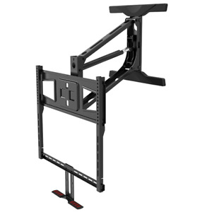 Fireplace Hydraulic Lift Mantel Quick Mount Tv Lifts lower Height 42-65 inch TV