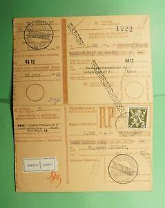 DR WHO 1955 BELGIUM BULLETIN D'VERSEMENT DOUBLE CARD  g19220