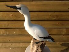 ARCHIPELAGO WOOD CARVING  - GANNET D315 -  SEA BIRDS