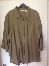 Linen Classic Tops & Shirts Size Plus for Women