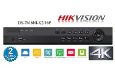 HIKVISION OEM NVR 16Ch & 16 POE Network Video Recorder HDMI 4K output