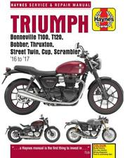 HAYNES WORKSHOP MANUAL for TRIUMPH T100, T120, 2016 to 2017