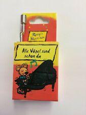 Kurbelspieldose Musik-Box-Spieluhr Melodie Alle Vögel... 1 Stk. Fridolin 59029
