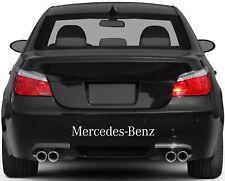 Rear Bumper Stickers Fits Mercedes Benz Graphics Premium Qaulity YN48