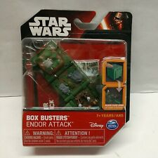 New listing Star Wars Box Busters Endor Attack Spin Master Toy Set