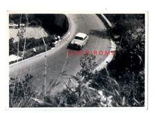 1957 MILLE MIGLIA FOTO ORIGINAL MERCEDES PONTON 200A n.411 RETTER 57°ASS 3°CLASS