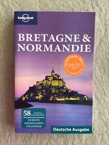 """Lonely Planet Reiseführer """"Bretagne & Normandie"""" ausgezeichneter Zustand"""