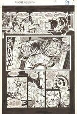 Ghost Rider #50 p.18 - Vengeance (Lt. Michael Badilino) - 1994 art by Ron Garney Comic Art