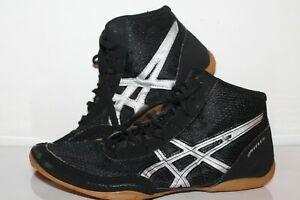 ASICS Matflex Wrestling Shoes, #J504N, Black/White, Men's US Size 7.5