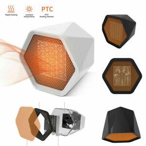 UK 1000W MINI Fan Portable Fast Heater Heated Heating Electric Cooler Hot Winter