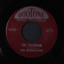 MEDALLIONS: The Telegram / Coup De Ville Baby 45 (re) Vocal Groups