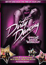 Dirty Dancing - Official Dance Workout (DVD, 2008) - NEW!!