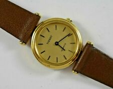 Vintage Swiss Made Tissot Quartz 24.40mm Case Womens Watch w/New Band lot.y