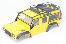 TRX-4 DEFENDER - BODY (Yellow Tire Fenders Land Rover Trail Traxxas 82056-4