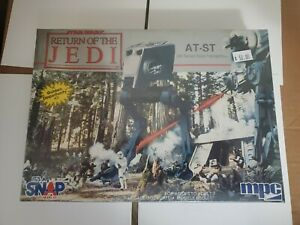 MPC STAR WARS Return Of The Jedi AT-ST (All Terrain Scout Transport) sealed