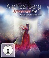 "ANDREA BERG ""SCHWERELOS LIVE"" BLU RAY NEU"