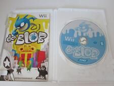 VIDEO GAME--DE BLOB---DISC MANUAL & CASE