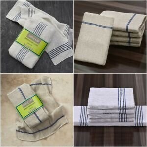 100% Cotton Large Strong Heavy Floor Cleaning Cloths Household Pack of 10