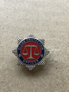 Close Protection Officer Pin / lapel badge