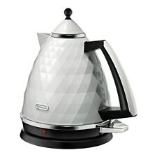 Delonghi KBJ3001.W Brillante Cordless Kettle - White KBJ3001.W