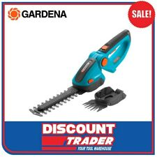 GARDENA Cordless 7.2V Lithium-Ion Set Accu Grass & Shrub Shears ComfortCut 8897