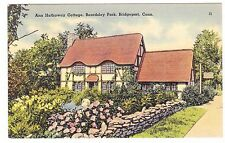 ANN HATHAWAY COTTAGE  BEARDSLEY PARK  BRIDGEPORT CONNECTICUT POSTCARD
