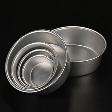 4/5/6/7/8/9'' Aluminum Alloy Non-stick Round Cake Baking Mould Pan Bakeware BRPA