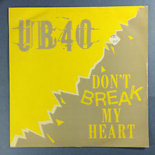 UB40 - Don't Break My Heart / Mek Ya Rok, DEP 22-12 Ex Condition