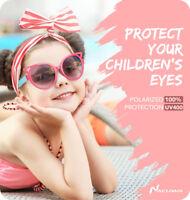 Nacuwa Kids Sunglasses ANTI-UV Boys Girls Shade Goggles Eyewear Glasses Age 3-10