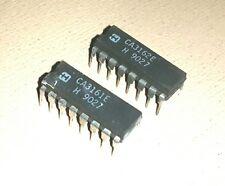 1 pair of 2 IC HARRIS CA3161E & CA3162E 16-DIP ANALOG/DIGITAL CONVERTER - New