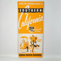 1939 Union Pacific Railroad Travel Brochure Southern California Overland Route