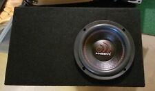 Massive Audio Gtx64 subwoofer 6inch dual voice coil w/ported box.