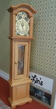 Streets Ahead Dolls House Accessory 1:12th Scale Grandfather Clock DF281 New