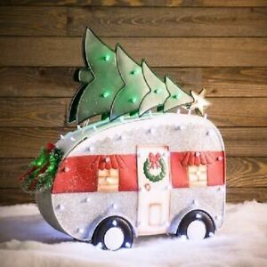 """31"""" Lighted Christmas Camper Yard Decor (New in Box) - FREE SHIPPING"""