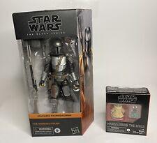 Star Wars Black Series 6? The Mandalorian (Beskar) And The child 2 Pack