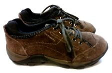 MERRELL Kid's (Size 1) Sight Lace Bracken Brown Suede Sneakers! FREE S/H!