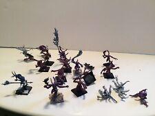 Pink Horrors of Tzeentch x16 & Sorcerer Warhammer 40k 40,000 AOS Chaos Daemons