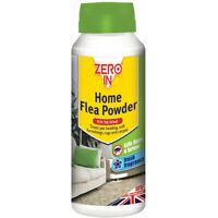 STV International Zero In 300g Home Flea Powder Killer Treatment for Carpets