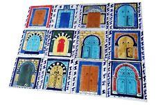 Orientalische Fliesen Türen Fliesenbild handbemalte Fliesen individuell oriental
