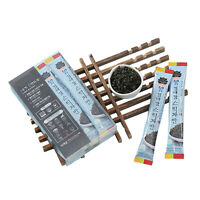 Korean Crispy Roasted Seasoned Seaweed Laver Snack Flakes Stick 12g X 10 Sticks