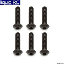 Associated 81261 M4x16mm BHCS Button Head Cap Screws (6)