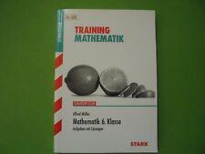 Training Mathematik 6.Klasse Gymnasium für G8